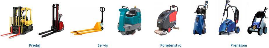 Služby firmy Cleanlift